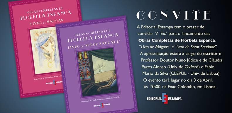 Convite_Obras Completas de Florbela Espanca